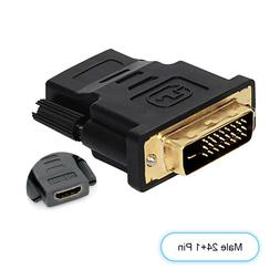 1080P HDMI to DVI-D Adapter Converter For 3D TV HDTV LCD Mon
