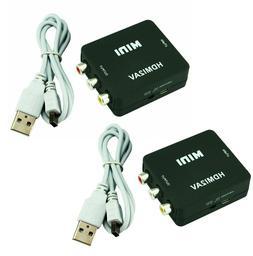 1x2 2 Port HDMI Audio Video v1.4b 1080p Splitter Adapter for