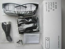 2 X Genuine Sharp 3D Glasses Eyewear AN-3DG20-B for AQUOS LX