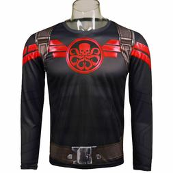 2017 Cosplay TV Agent of Shield T-Shirt New Hydra Cool 3D Sp