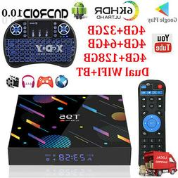 2020 T95 Android 10.0 OS 128G 64G Smart TV BOX 5G WIFI BT5.0