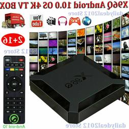2020 X96Q 4K Android 10.0 OS 2+16G TV BOX 2.4G WIFI HDMI 3D