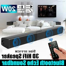 2614 Bluetooth Wireless TV Soundbar 4 Speaker 3D Home Theate