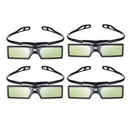 Pergear® 3D Active Shutter Glasses Bluetooth Eyewear Glasse