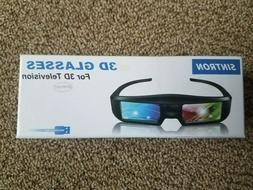 SINTRON 3d Active Shutter Glasses for 3d Televisions