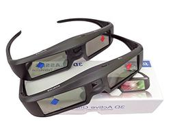 2X 3D Active Shutter Glasses Rechargeable - Sintron ST07-BT