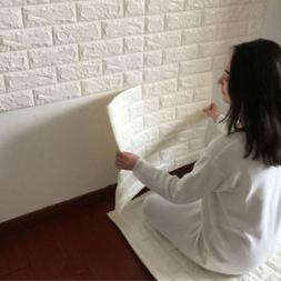 3D Brick Pattern Wallpaper Sticker Living Room Modern Wall B