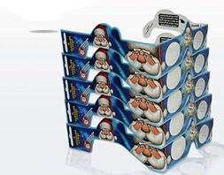 3D Christmas Glasses - 5 Pack - Turn Holiday Lights Into Mag