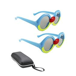 2 Pairs 3D Glasses for Kids, Passive Circular Polarized 3D G