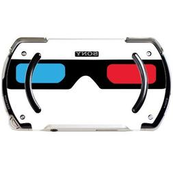 3D Glasses Red and Blue Lens PSP Go Vinyl Decal Sticker Skin