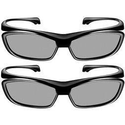 Panasonic 3D Passive Polarized Glasses - Two Sets