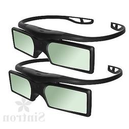 2X 3D RF Active Glasses for US 2018 Sony 3D TV & TDG-BT500A