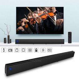 3D Surround Sound Bar Speaker System Wireless Subwoofer TV H