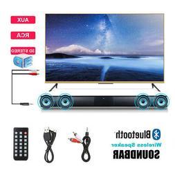 3D Surround Sound Bluetooth Soundbar Home Theater TV Audio S