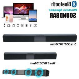 3D Surround TV Sound Bar System Wireless Bluetooth Soundbar