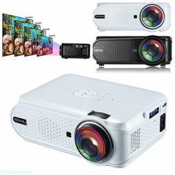3D U90 Mini Projector LED 1000:1 Multimedia Home Theater SD