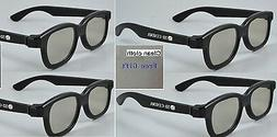 4 Pairs 3D glass fit for LG 3D TV 47LM4600 55LM4600 42LM3700