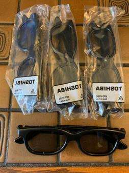 4 Pairs Passive 3D Glasses For Toshiba, LG And Other 3D TVs
