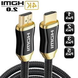 4K HDMI 2.0 High Speed Cable CL3 HD 3D ARC Xbox PS4 PS3 Blue