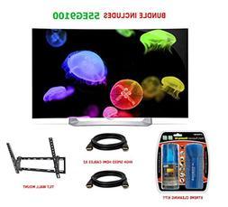 LG 55EG9100 - 55-Inch Full HD 1080p Curved OLED 3D TV Essent