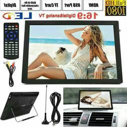 "7''/9''/10''/12''/14"" Portable Digital TV 1080P HD USB/LED/A"