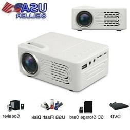 7000Lumens 3D 1080P Movie Full HD Projector LED Multimedia H