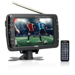 Axess 7-Inch AC/DC, LCD TV with ATSC Tuner, Rechargeable Bat