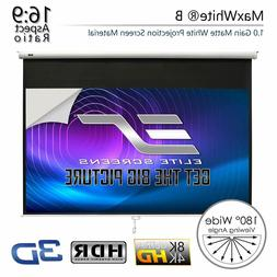 Elite Screens Manual B, 100-INCH 16:9, Manual Pull Down Proj