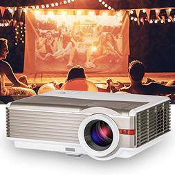 LED LCD Video Projector 4200 Lumen Multimedia HD Home Theate