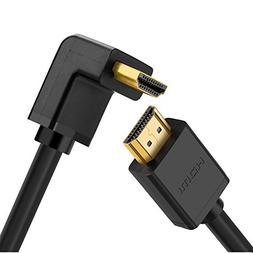 UGREEN HDMI Cable Right Angle 90 Degree Elbow HDMI Cord 4K U