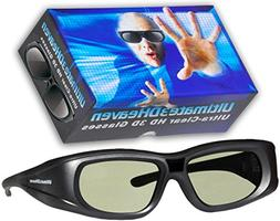 Ultra-Clear 3D Glasses Rechargeable for Panasonic 3D TV's 20