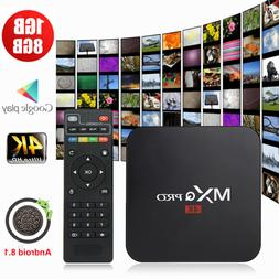 Affordable MXQ PRO Smart TV Box Quad Core Android 8.1 1+8G W