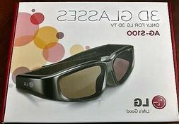 LG AG-S100 3D Active Shutter Glasses for 2010 LG 3D HDTVs
