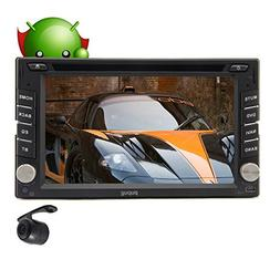 Android 4.2 OS GPS Navigator 6.2 INCH Double 2 Din Car Radio