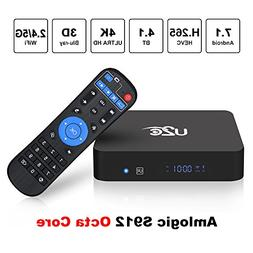 U2C Android TV Box 7.1 2gb Ram+16gb ROM 2018 Newest【Amlogi