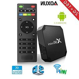 2018 Android TV Box - Smart TV Box with Quad Core X96 Mini A