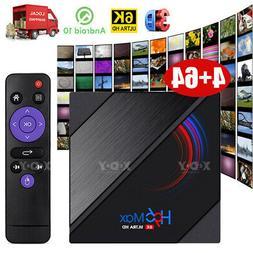 Android 10.0 Smart TV BOX Quad Core HDMI Media Player 6K 3D
