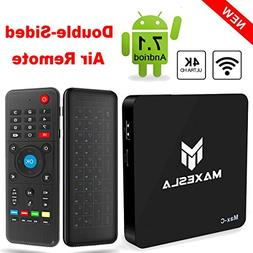Android TV BOX - Maxesla Max-C Android 7.1 Smart TV Box with