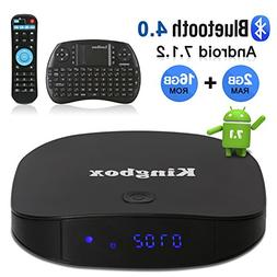 Kingbox Android TV Box, K2 Android 7.1 Box with 2GB RAM 16GB