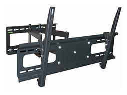 Black Full-Motion Tilt/Swivel Wall Mount Bracket for Vizio R