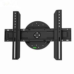 Black Full-Rotation Fixed/Flat Wall Mount Bracket for Vizio
