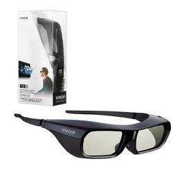 New Original Black Sony TDG-BR250 Active Shutter 3D Glasses