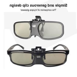 Bluetooth Active Shutter 3D Glasses Universal for Epson Sony