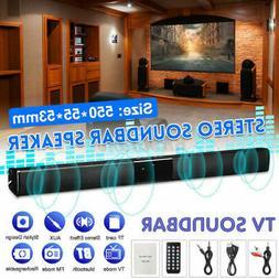 Bluetooth Wireless TV Soundbar 4Speaker 3D Sound Bar Home Th