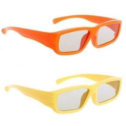 Children Circular Polarized Passive 3D Glasses For Real 3D T