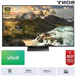 Sony 75-Inch Class 4K Ultra HD TV  with 1 Year Extended Warr