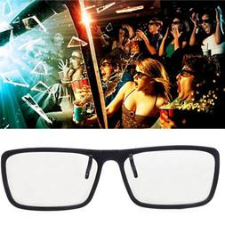 Clip-On Type 3D Glasses Circular Passive Polarized For TV Re