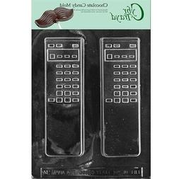 """CybrTrayd 3D 1 Piece 7"""" TV Remote Control Chocolate Candy Mo"""