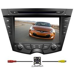"BlueLotus In-dash 7"" Car DVD GPS Navigation for Hyundai Velo"