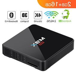 TICTID  M9X MAX Android 6.0 TV Box S905X Quad-core Cortex-A5